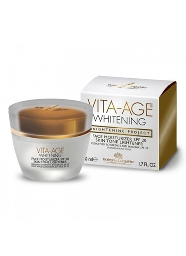 Dead Sea Spa Magik Vıta-Age Whitening Face Moisturizer Spf20 Skin Tone Lightener 50 Ml Renksiz